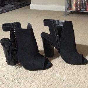 New Look black heels